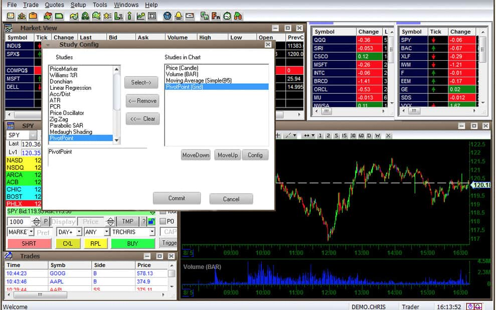 Direct access trading systems