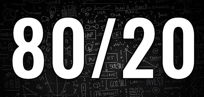 The 80/20 Rule: Day Trading Applications