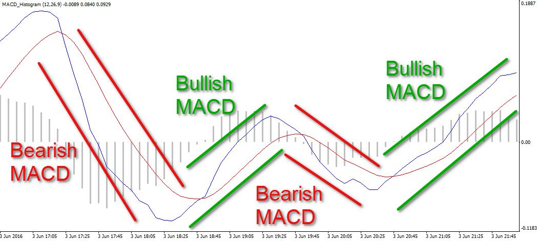 Bullish and Bearish MACD