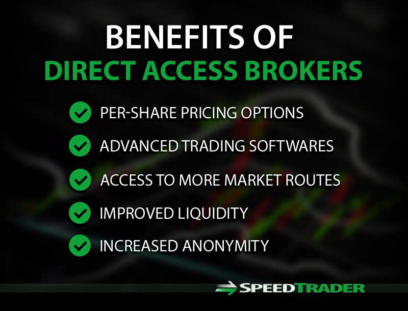 Benefits of Direct Access Brokers