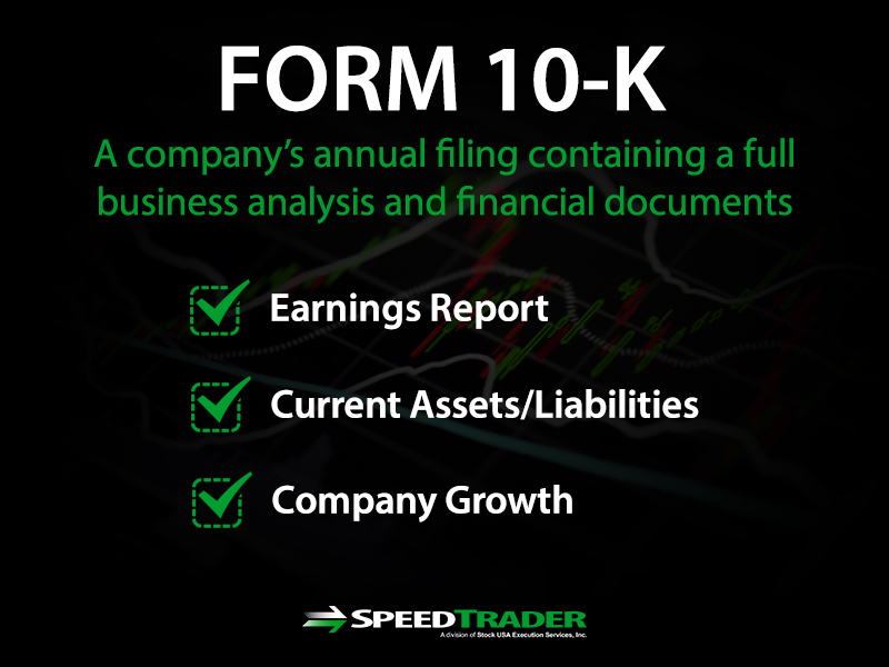 form 10k sec filings