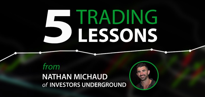5 Day Trading Lessons from Nathan Michaud of Investors Underground