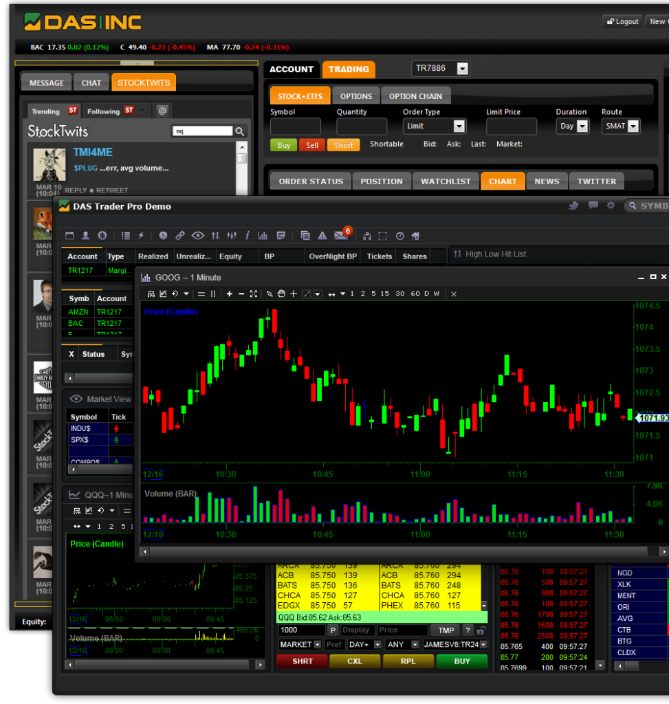 Trading system software review