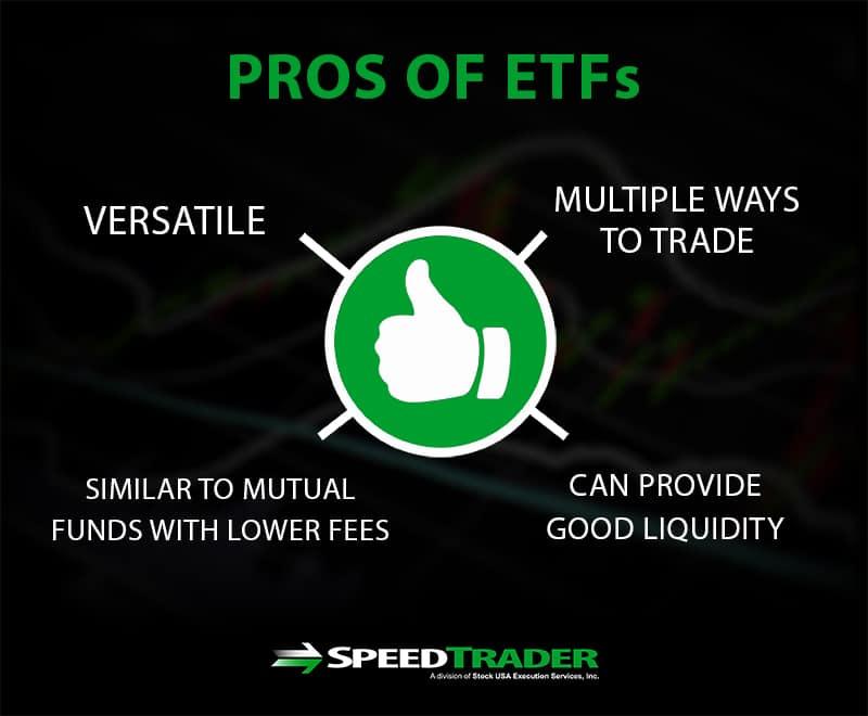 ETFs pros