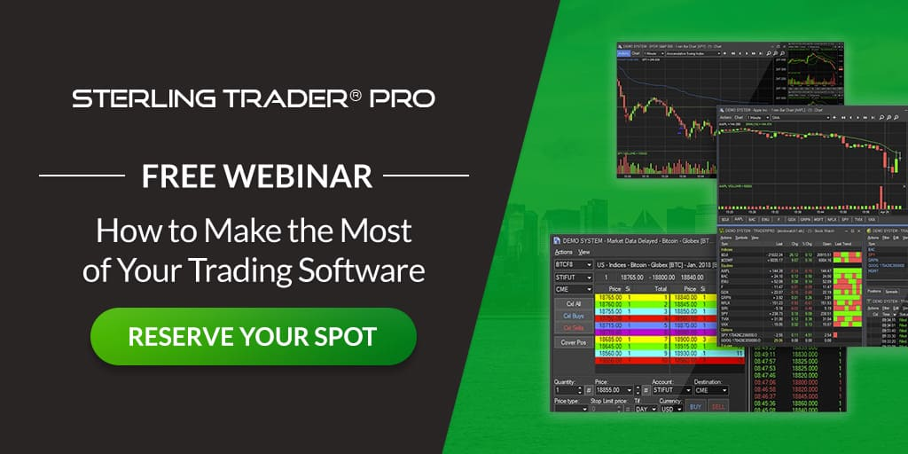 Making the Most of Your Trading Platform (w/Sterling Trader)