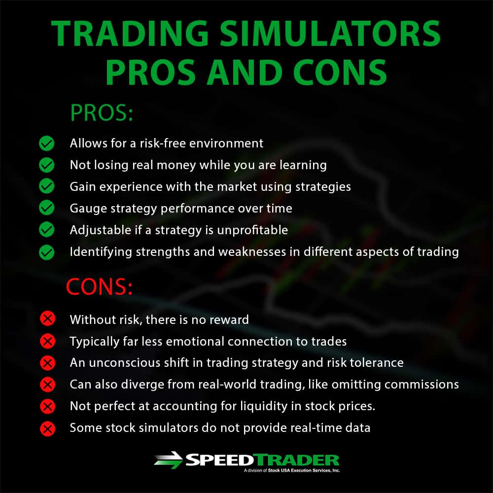 Trading Simulator Pros and Cons